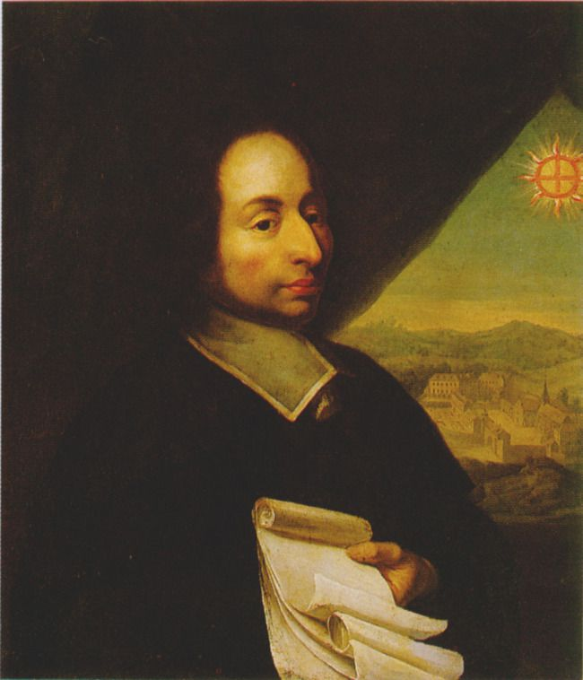 a biography of blaise pascal Pascal's writing shows a harmony between mathematical certainty and moral  truths in support of h 1,608 words 4 pages a biography of blaise pascal  blaise.