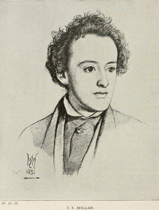 Effie Gray - scénario d'Emma Thompson (2012) - Page 2 Millais_gezeichnet_1853_von_William_Holman_Hunt