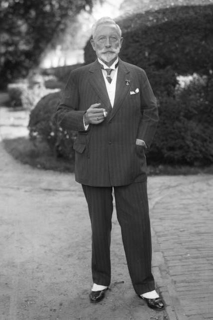 Кайзер Вильгельм II после отречения.