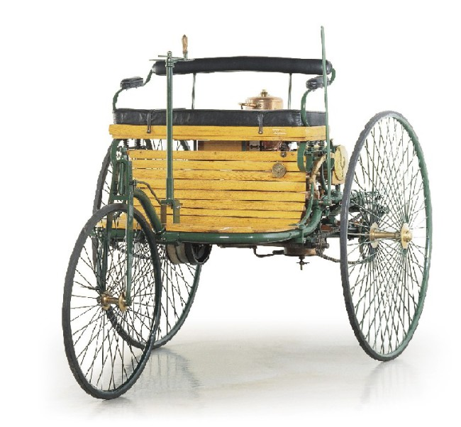 The World S First Automobile The Benz Patent Motorwagen: The First Successful Petrol-driven Motorcar, Built By Karl