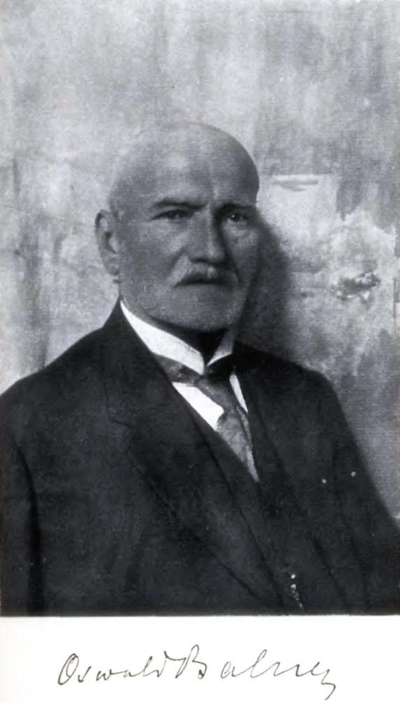 Картинки по запросу Ба́льзер О́свальд Маріа́н