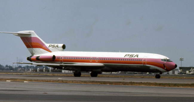 Pacific Southwest Airlines Psa Flight 182