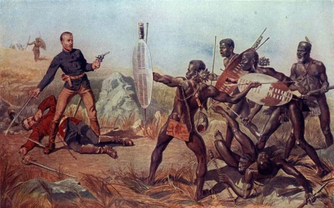 the zulu empire began their rise