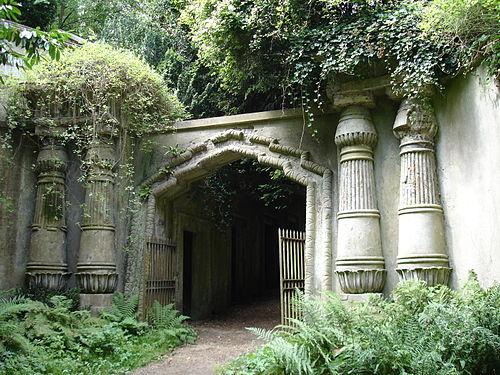 Cmentarz W Londynie