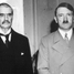 Neville Chamberlain flew to Germany to meet Adolf Hitler at Berchtesgaden. Czechoslovakia's fate decided