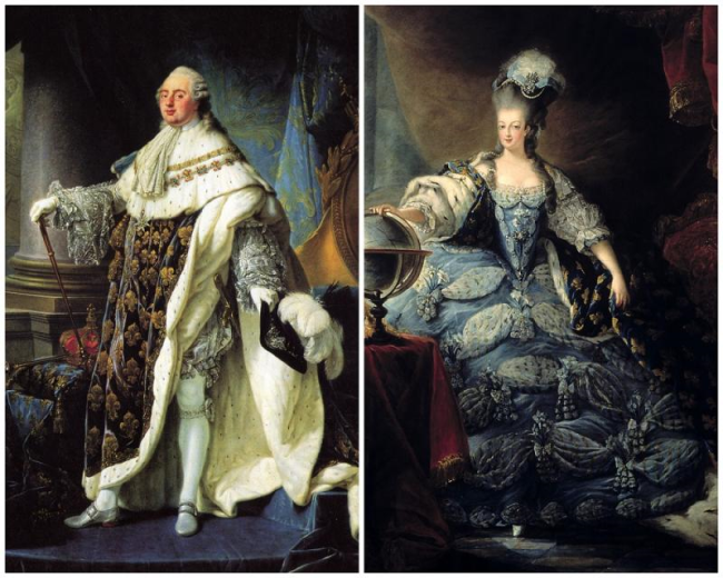 Louis XVI and Marie Antoinette become King and Queen of France